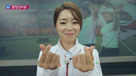 미녀 궁사 장혜진 '공유 씨 만나고 싶다' <스포츠24 388회>