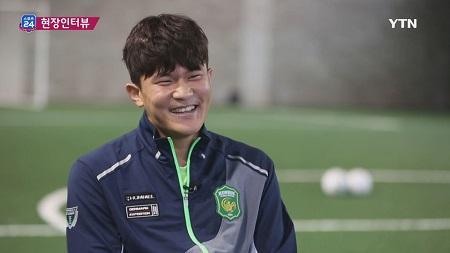 김민재'노련한 선수가 되고 싶다'(스포츠24 441회)