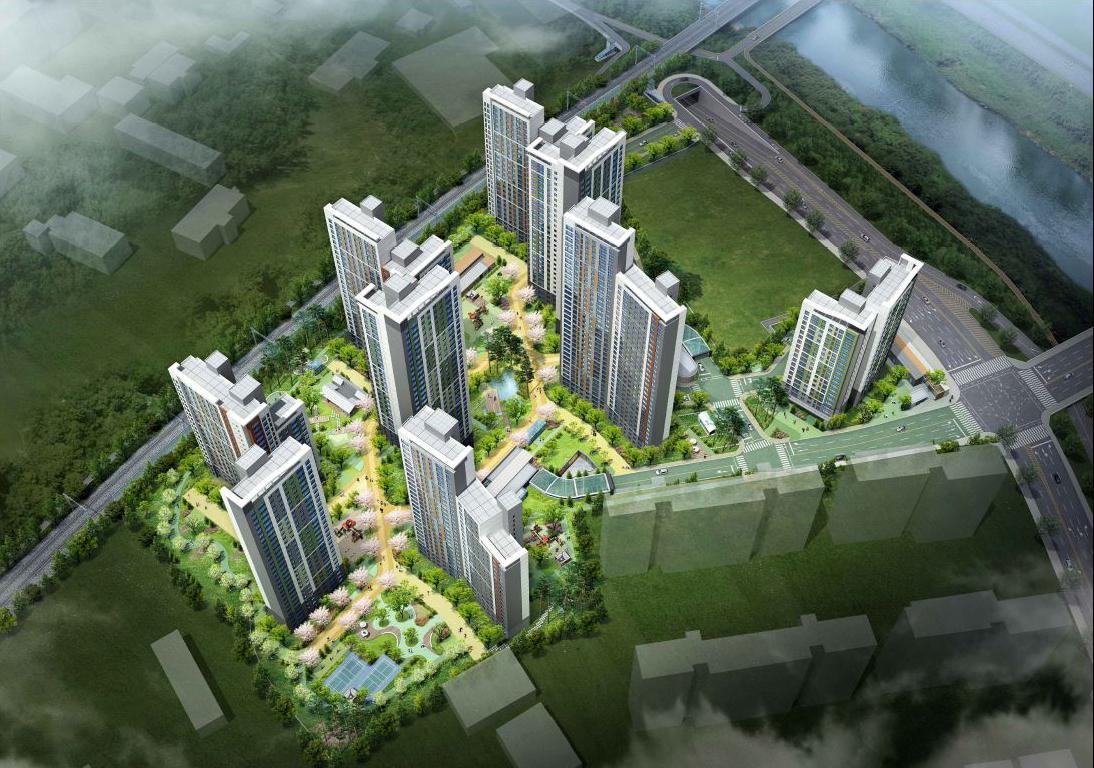 대우건설 '중촌 푸르지오 센터파크' 분양 이미지